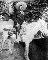 pancho on horse
